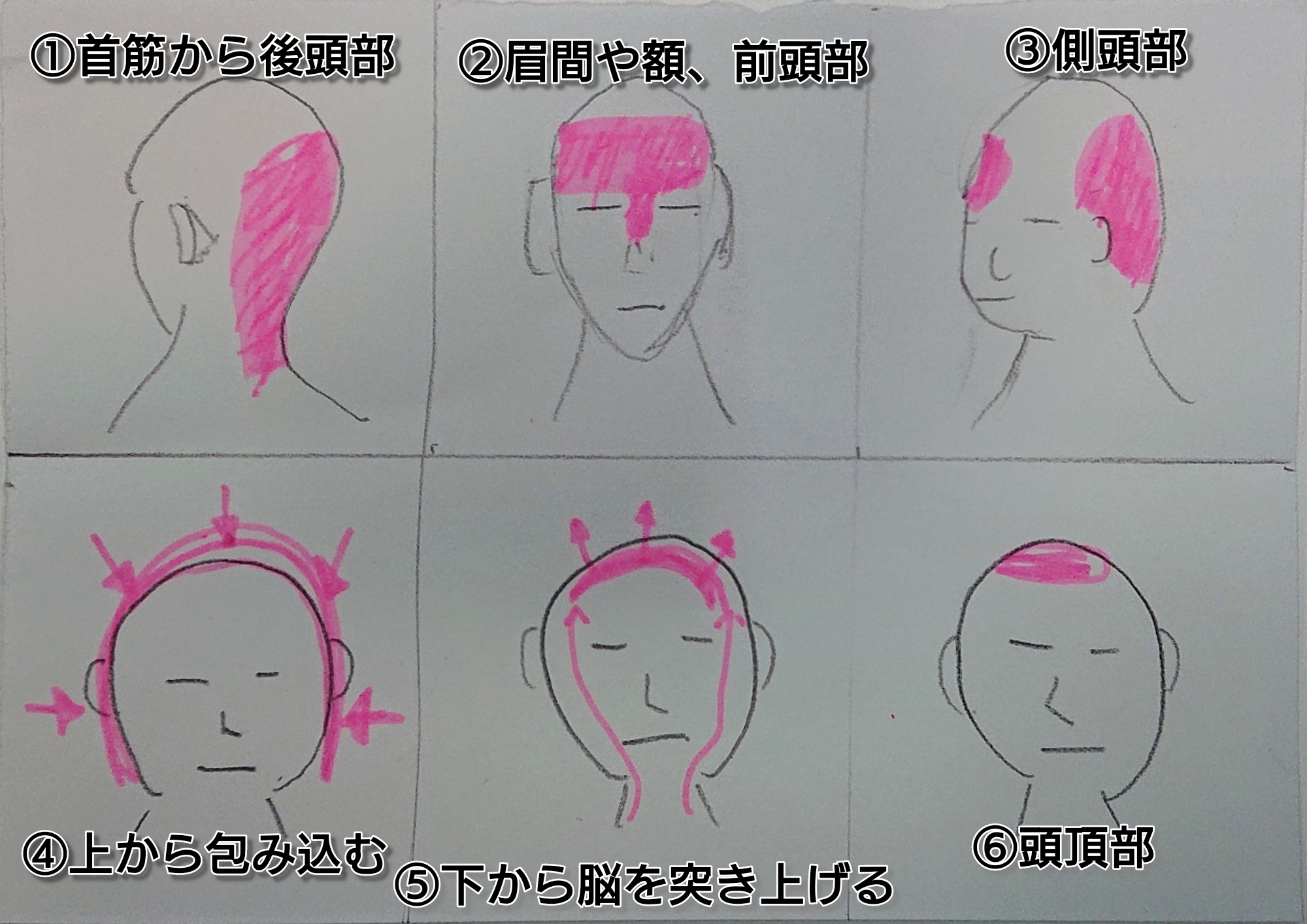 東洋医学的な頭痛の分類